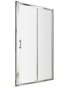 Pacific 1200 x 1850mm Single Sliding Shower Door
