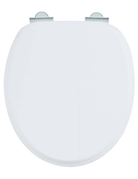 uk toilet seat sizes. Sizes Available Burlington Matt White Soft Close Wooden Toilet Seat  S45