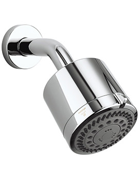 Reflex 4 Mode High Pressure Shower Head With Arm