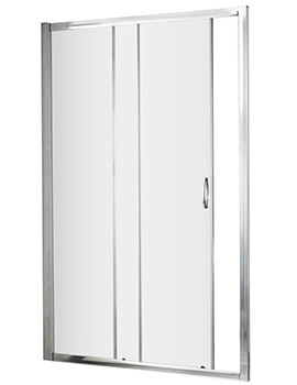 Ella 1200 x 1850mm Single Sliding Shower Door