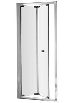 Ella 900 x 1850mm Bi-Fold Shower Door