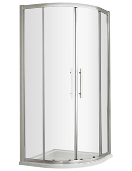Apex 1000 x 1000mm Quadrant Shower Enclosure