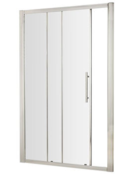 Apex 1000 x 1900mm Sliding Shower Door