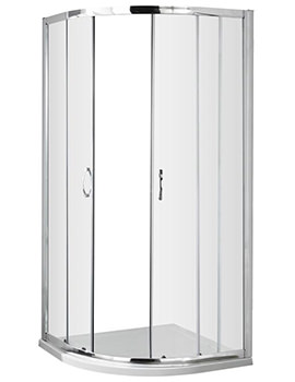 Ella 900 x 900mm Quadrant Shower Enclosure