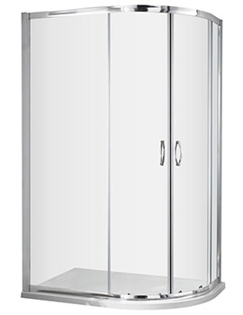 Premier Ella 1200 x 800mm Offset Quadrant Shower Door