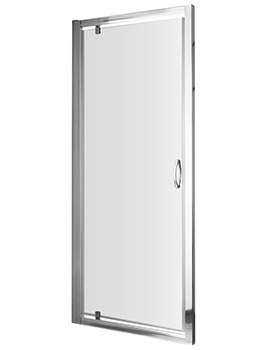 Ella 800 x 1850mm Pivot Shower Door