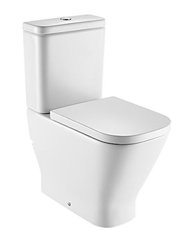 The Gap Comfort Height Close Coupled WC Pan With Cistern