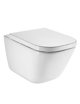 Roca The Gap Wall Hung Rimless WC Pan