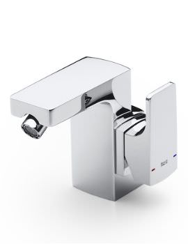 L90 Side Handle Bidet Mixer Tap With Pop-Up Waste
