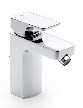 L90 Top Handle Bidet Mixer Tap With Pop-Up Waste