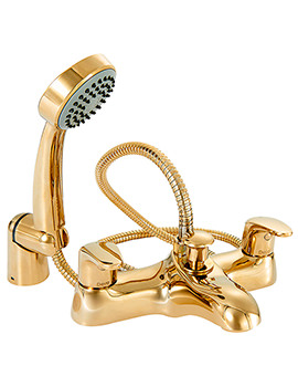 Adore Gold Bath Shower Mixer Tap