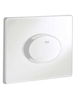 Skate Air WC Wall Plate Alpine White