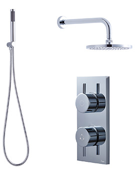 Kai-Central Digital Handset Kit And Overhead Shower Pack 06