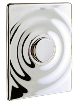 Surf WC Wall Mounted Flush Plate Chrome
