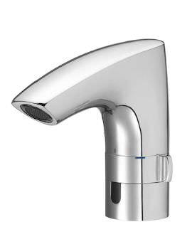 M3 Electronic Basin Mixer Tap - Mains Operated