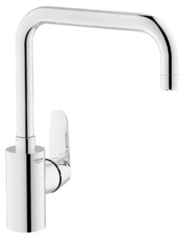 Eurodisc Cosmopolitan Chrome Kitchen Sink Mixer Tap