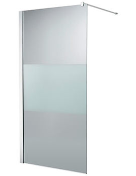 Synergy 1200 x 2000mm Modesty Wetroom Shower Panel