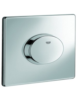 Skate Air WC Wall Plate Chrome
