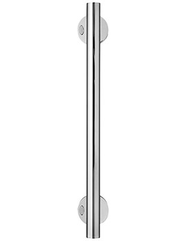 Contour 21 600mm Contemporary Grab Rail Chrome