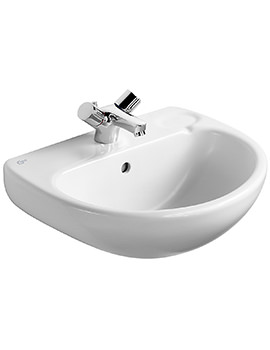 Studio Pedestal Washbasin 500mm - E112001