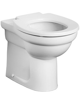 Contour 21 Rimless Back-To-Wall Standard Height WC Pan