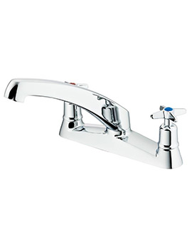 Sandringham 21 Deck Mounted Sink Mixer Tap