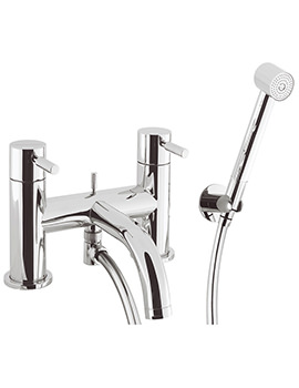 Design Deck Mounted Bath Shower Mixer Tap With Kit