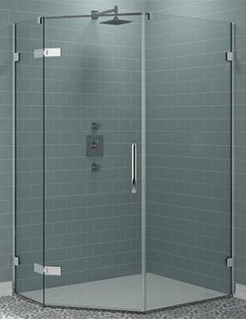 Merlyn Arysto Pentangle Shower Enclosure 1200 x 900mm
