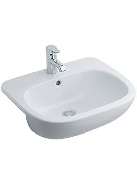 Jasper Morrison 550mm Semi Countertop Basin