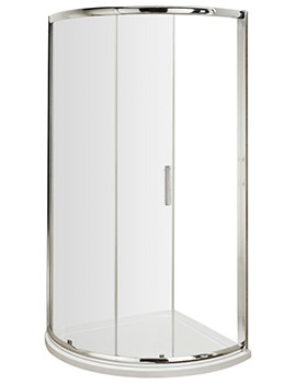 Nuie Premier Pacific Single Entry 860 x 860mm Quadrant Shower Enclosure - Image