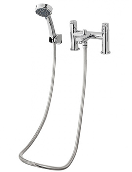 Triton Dene Bath Shower Mixer Tap With Handset And Hose