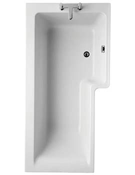 Ideal Standard Concept Idealform Plus 1700mm Square Right Hand Shower Bath