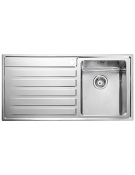 Rockford 985 x 508mm Stainless Steel 1.0B Inset Kitchen Sink
