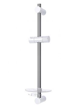 Adam 2 Circular Shower Riser Rail
