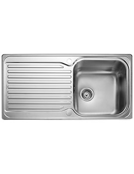 Sedona 985 x 508mm Stainless Steel 1.0B Inset Kitchen Sink