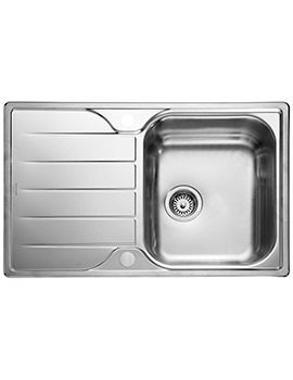 Michigan Compact 800 x 508mm Stainless Steel 1.0B Inset Sink