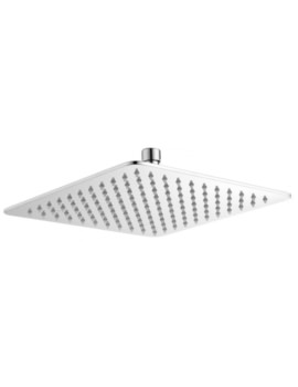 Evie Square Edge 250mm Fixed Shower Head