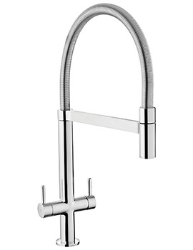 Mini Pro Dual Lever Kitchen Sink Mixer Tap