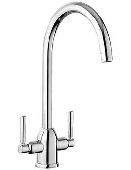 Parma Dual Lever Kitchen Sink Mixer Tap