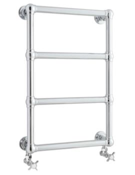 Epsom 475 x 748mm Wall Mounted Heated Towel Rail