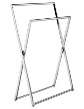 Smedbo Outline Towel Rail Free Standing
