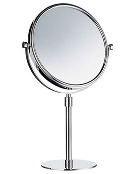 Outline Free Standing Shaving And Make-Up Mirror