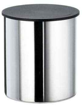 Outline Stainless Steel Polished Large Container With Lid