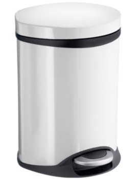 Outline Pedal Bin White
