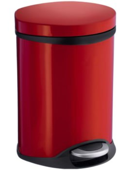 Outline Pedal Bin Red