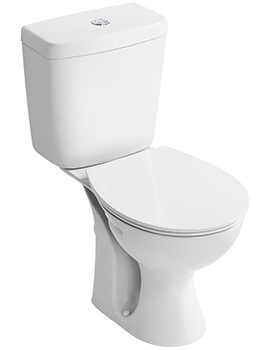 Sandringham 21 White Close Coupled WC Pan