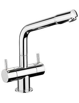 Aquadisc 1 Monobloc Dual Lever Kitchen Sink Mixer Tap