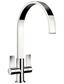 Aspire Monobloc Dual Lever Kitchen Sink Mixer Tap