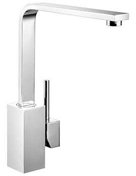 Quadrant Monobloc Single Lever Kitchen Sink Mixer Tap