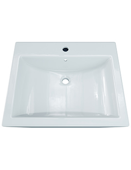 Elise Square Countertop Basin 525mm - BBD Elise 2